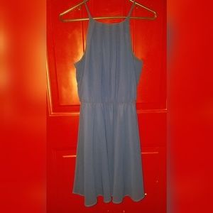 Blue Rair Navy Blue Dress